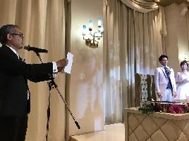 里田氏披露宴 乾杯メッセージの続編