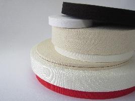 織テープ・ベルトの材質(主な5種類について)